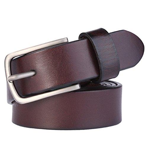 Fashion damen gürtel/leder nadel schnalle simple belt/weibliche gürtel freizeit koreanische version fine belts-A 105cm(41inch) (Koreanische Tracht Weiblich)