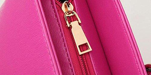 Art Und Weiseschulterbeutel Diagonale Querbeutelhandtasche Liu Nagel Einfache Wilde Dame Reißverschluss Purple