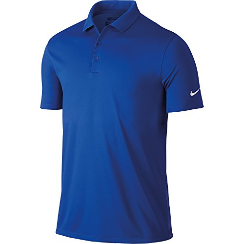 Nike Herren Polo Hemd Victory Solid Poloshirt, Game Royal/White, S -