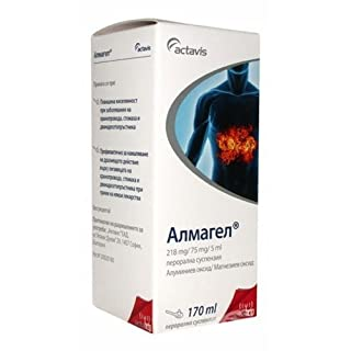Almagel Oral Suspention Stomach Aches and Ulcer Symptoms by Actavis