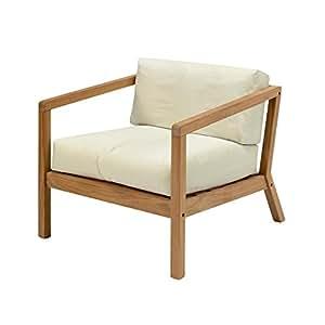 virke Lyst sedia da giardino sedia con braccioli/