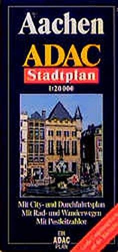ADAC Stadtplan Aachen (ADAC Stadtpläne)