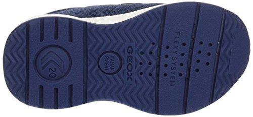 Geox Baby-Jungen, Erste Schritte Schuhe, B Teppei Boy B mehrfarbig (Multicolor (Navy / Red))