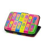 Qiusa Kostenlose Probe Aluminium Visitenkarte Box Farbe Druck Kreditkarte Paket, um Design-Anpassung zu bieten (Farbe : Mehrfarbig)