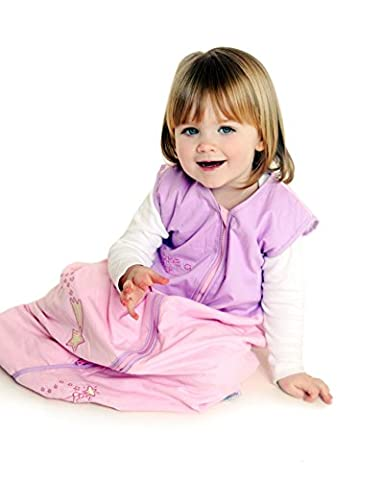 Schlummersack Baby Ganzjahres Schlafsack 2.5 Tog - Pink Fairy - 12-36 Monate/110 cm (Hello Kitty Hochstuhl)