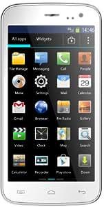 Mobistel MT-7521W Cynus F4 Smartphone (1,3GHz Dual Core Prozessor, micro SD, Dual Sim, 11,4 cm (4,5 Zoll) IPS Display, 5 Megapixel Kamera, Bluetooth 4.0, Android 4.2) weiß