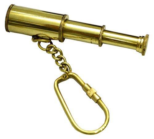 Messing Nautischen Spy Glas Teleskop Schlüsselanhänger Key Ring Hand, Held Teleskop Spyglass–Menge 25Stück