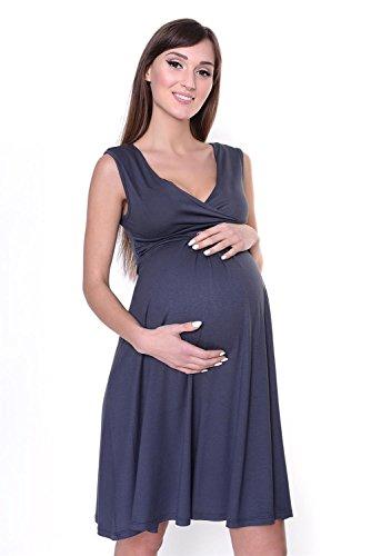 AE - Robe spécial grossesse - Sans Manche - Femme Gris - Grafit