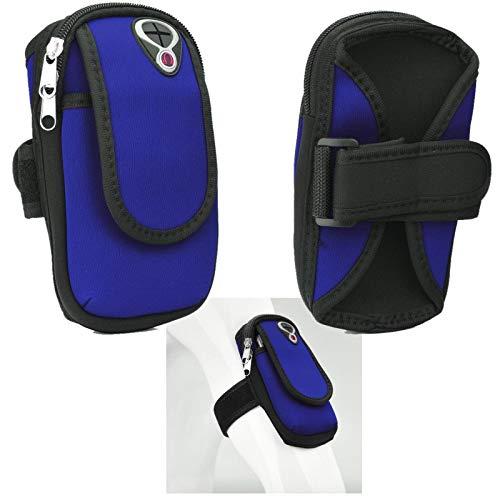 Supercase24 Sport Armband für Allview X4 Soul Infinity L Handy Hülle Tasche Schutzhülle Case Fitness Armtasche