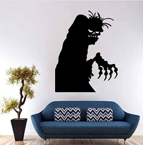 Your boy-HT Happy Halloween Hause haushaltsraum wandaufkleber Aufkleber abnehmbare DIY schwarz unheimlich böse Festival wandaufkleber