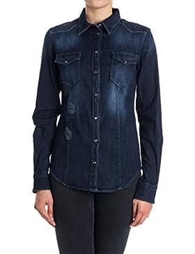 Liu Jo Camicia Donna U67055D415777960 Cotone Blu