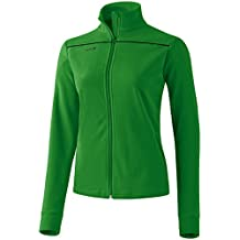 Fleece jacke damen grun