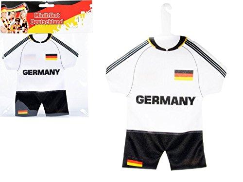 Preisvergleich Produktbild Deutschland Trikot mit Bügel & Saugnapf