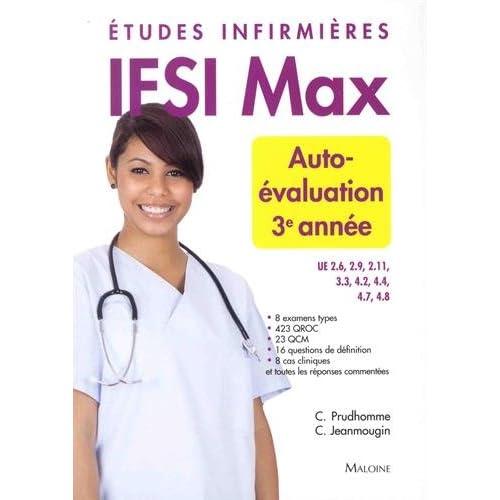 Autoévaluation 3e année : Etudes infirmières