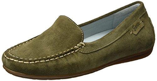 Sioux Muita, Mocassins (loafers) femme Vert olive