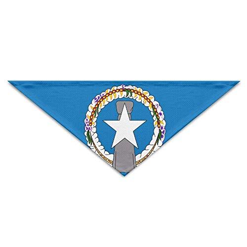 Hunde Kostüm Zum Geschenk Tragen Verkauf - Gxdchfj Pet Scarf Flag of The Northern Mariana Islands Bandana Triangle Neckerchief Bibs Scarfs Accessories for Pet