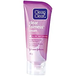 Clean & Clear Clear Fairness Cream, 40g