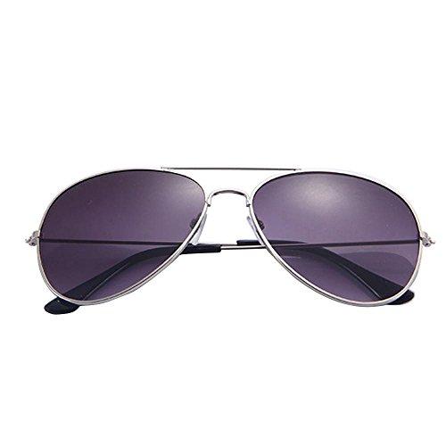 2019 Nuevo Gafas de sol Unisex,Gafas de sol de diseñador de metal clásico caliente,Gafas de playa de viaje para Mujeres hombres,KanLin1986 (A)
