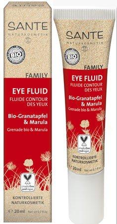 Sante Family Augenfluid Eye Fluid Bio Granatapfel & Marula 20 ml für Verführerische Blicke