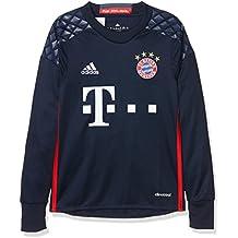 Adidas FCB H GK JSY Y Camiseta 1º Equipación del Bayern FC, niño, Azul