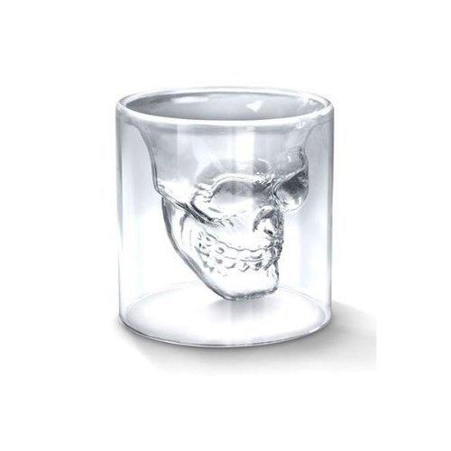 nicebuty (cristal), diseño con forma de calavera Pirata Shot...