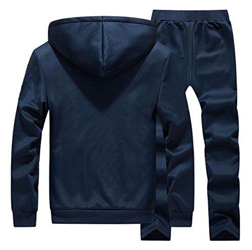 XXZTQ Abbigliamento Casual Per Uomo Vestito Di Sport Leggeri Grey