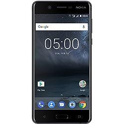 Nokia 5 - Dual SIM - Smartphone Débloqué 4G (Ecran : 5,2 Pouces IPS LCD - Format 16:9-2Go RAM - 16Go Stockage + Extension SD 128Go - Android)