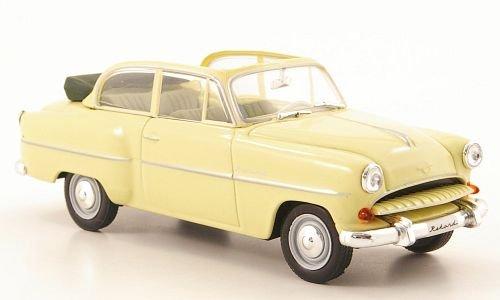 Opel Olympia Rekord Cabrio-Limousine, beige, (ohne Magazin), 1954, Modellauto, Fertigmodell, SpecialC.-40 1:43 -