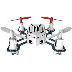 HUBSAN Nano Q4H1114-CH 2.4GHz RTF Mini RC Quadcopter UFO Drone con 6ejes giroscopio/LED Luz