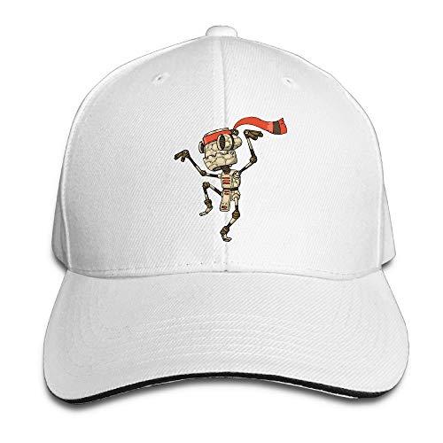 VTXINS Unisex Sandwich Peaked Cap Cute Robot Dancing Art Adjustable Baseball Caps,Snapback Caps Women Men Adjustable Baseball Cap Hats -