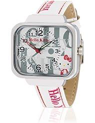 Hello Kitty Mädchen-Armbanduhr Kami White Analog Quarz Kunstleder HK1832-661
