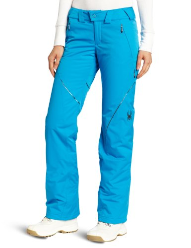 Thrill Athletic Fit Pant (Spyder Damen Thrill Athletic Fit Hose, damen, Coast)