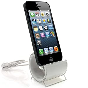 xaiox ladestation iphone 5 5s docking station design ladeger t weiss elektronik. Black Bedroom Furniture Sets. Home Design Ideas