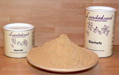 Lunderland Bierhefe 350 g
