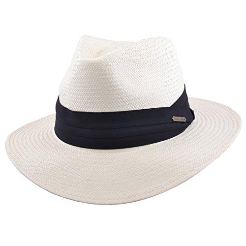 MAZ Herren Panama-Hut beige beige