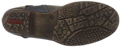 Rieker93414 - Stivali classici imbottiti a mezza gamba Donna Beige (Beige (ginger/stromboli/ozean / 62))