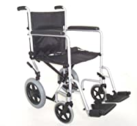 Z-Tec Folding Steel Transit Wheelchair