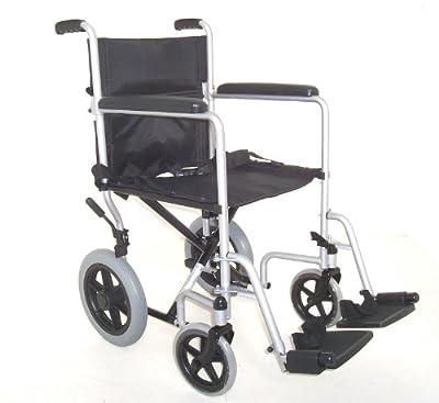 Z-Tec Folding Steel Transit Wheelchair