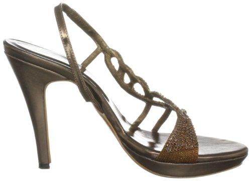 Unze Evening Sandals, Damen Sandalen Braun (L18457W)
