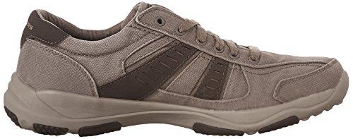 SKECHERS - Herren Halbschuhe - LARSON MASSON - Taupe Schuhe in Übergrößen Taupe