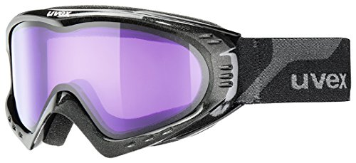 UVEX Skibrille F 2 Black Met/Psycho One size