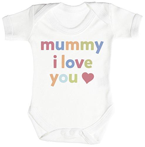 Mummy, I Love You regalo para bebé, body para bebé niño, body para