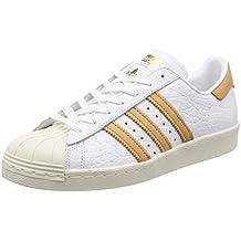 adidas Superstar 80s, Chaussures de Gymnastique Homme, Noir (Core Black/Core Black/Off White), 46 EU