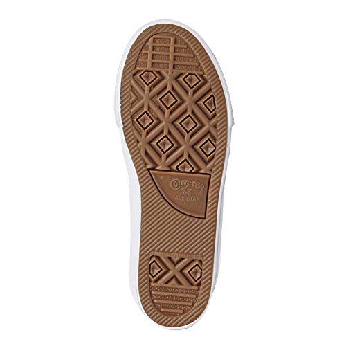 Converse Ctas Ii Hi, Sneakers Mixte Enfant Blanc (White/white/navy)