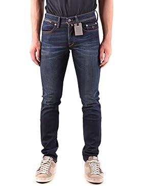 f4d6bb90451bd Siviglia Jeans Uomo MCBI278029O Cotone Blu