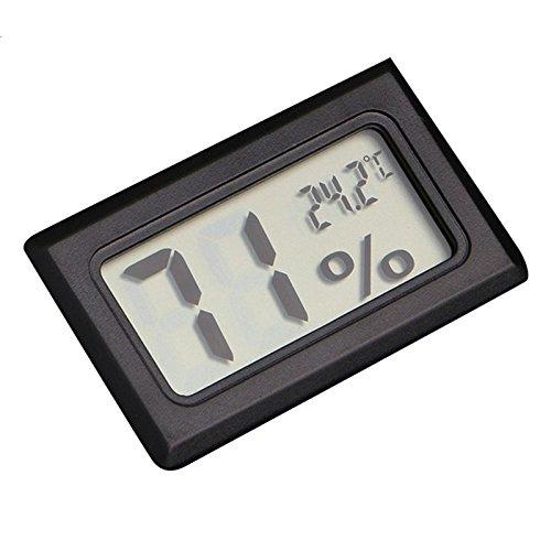 ESST Mini LCD Digital Innentemperatur Thermometer Luftfeuchtigkeit Messgerät Hygrometer -