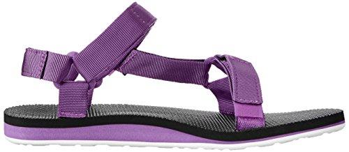 Teva Original Universal Womens Sandal De Marche Purple-Black
