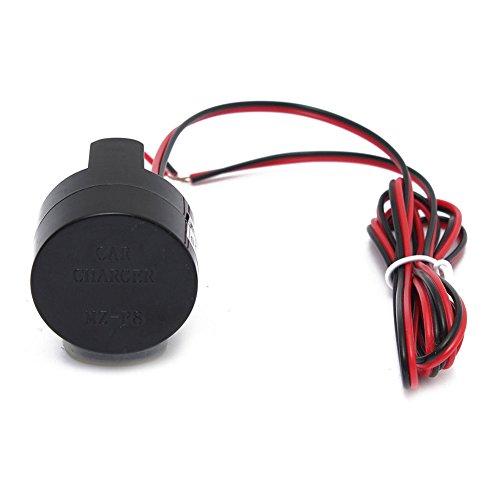 SODIAL Dc 5-28V USB Power wasserdichte Halterung Motorrad Motorrad Ladeger?t Adapter 28v Usb