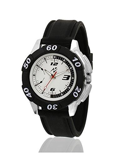 Yepme Festro Men's Watch - White/Black - YPMWATCH1282 image