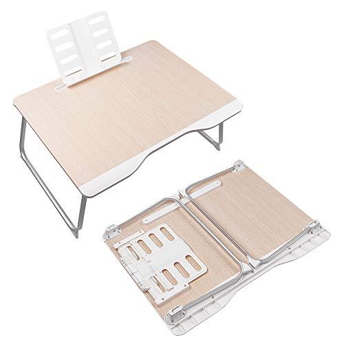 Orimade Laptoptisch Betttisch Multifunktionstisch mit Tablet iPad Buch Ständer Lapdesk Notebook/MacBook Schreibtischablage für Sofa, Bett, Terrasse, Balkon, Garten - 65 x 49 x 30cm
